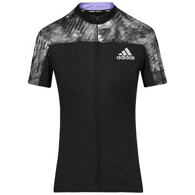 adidas Trail Race Damen Rad Sport Trikot Fahrrad Shirt S87678 schwarz Radsport