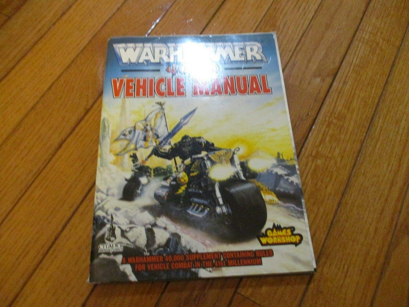 Warhammer 40K manual del vehículo