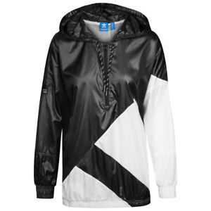 33210dd78126 NEW ADIDAS ORIGINALS WOMEN S EQT TREFOIL WINDBREAKER JACKET ~ SMALL ...