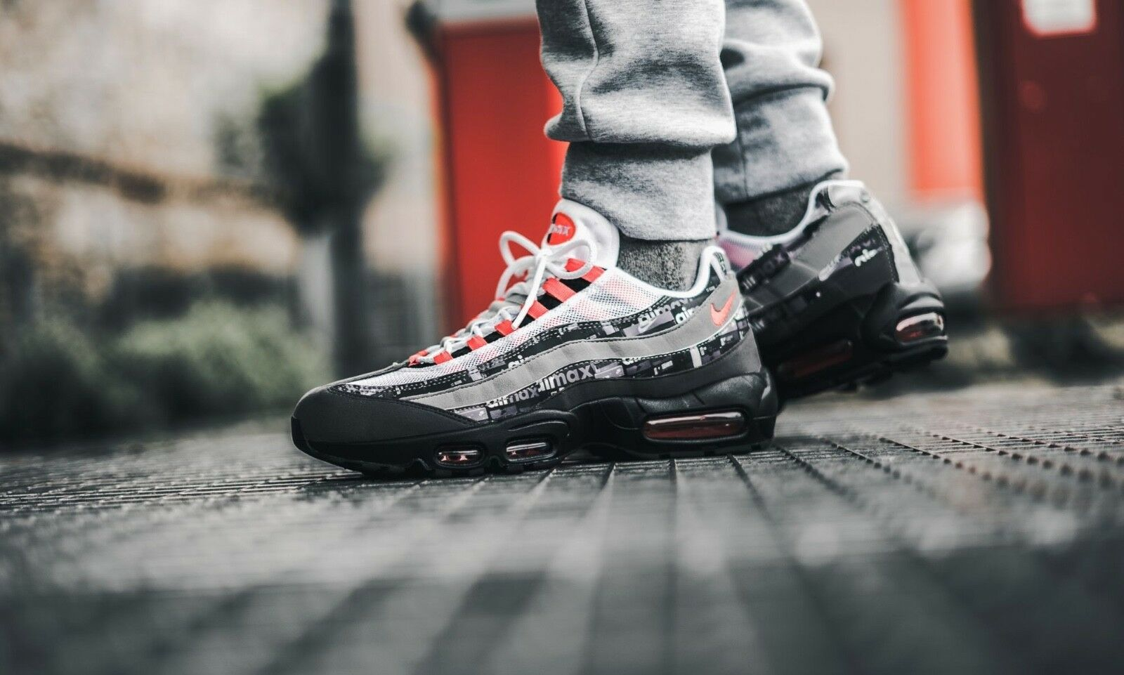 Atmos-X-Nike-Air-Max-95-Print-WE-LOVE-NIKE-Black-Sneakers-AQ0925-002 SIZE 15 DS  Cheap and fashionable