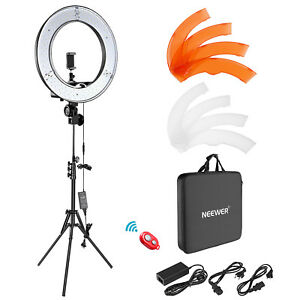 Neewer-18-034-Dimmable-LED-Ring-Light-Camera-Photo-Video-Lighting-Kit-f-Smartphone