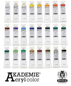 60-ml-Schmincke-Akademie-Kuenstler-Acrylfarbe-in-52-Farbtoenen