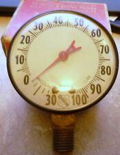 Vintage Ashcroft Vacuum Pressure Gauge Steel Case 2 12 Dial Case 100 Amp Vac