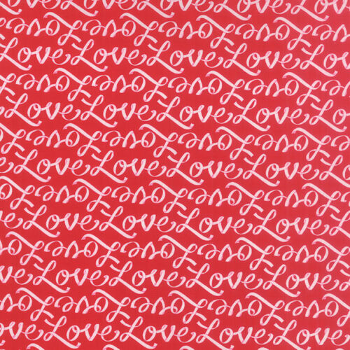 Romantic Red MODA Fabric ~ EVER AFTER ~ by Deb Strain 19745 11 by 1//2 yard