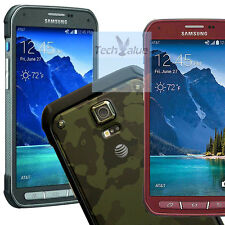 Unlocked Samsung Galaxy S5 Active G870A AT&T GSM 16GB Smart Phone Red/Green/Gray
