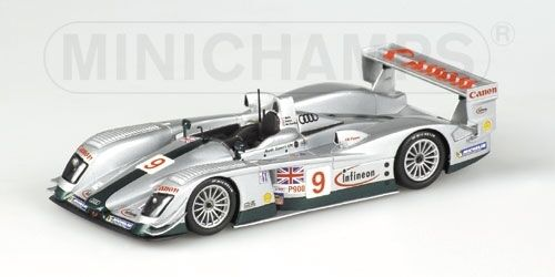 AUDI r8 Team UK M. SALO 12h Sebring 2003 1 43 MODEL MINICHAMPS