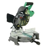 & Sealed Hitachi C10fch2 10-inch Miter Saw With Laser