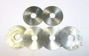 6x-Metal-Lame-de-Scie-Circulaire-HSS-Ss-2x-60-4x-63-Divers-Epaisseurs-U