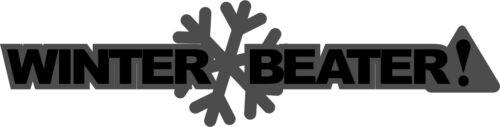 WINTER BEATER JDM HONDA SUBARU JAP VW VAG EURO Vinyl Decal Sticker Skate wrx sti