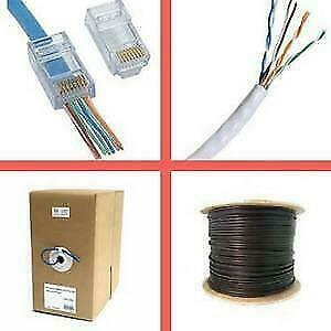 Weekly Promo!  Cat5e cable, cat6 cable, cat3 telephone cable, RJ45 connector, EZ RJ45 Connector Canada Preview
