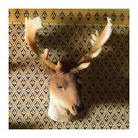 Dolls House 4965 Antler moose Stag Head 1:12 For Dollhouse (pr)