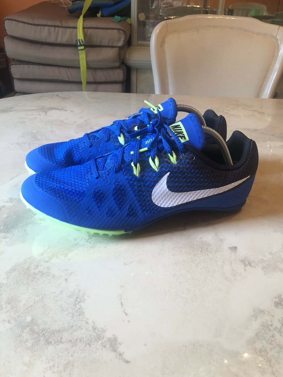 Nike Sprint Zoom rival hombre Track Sprint Nike Spikes Zapatos 806555 413 confortables 1ed79c