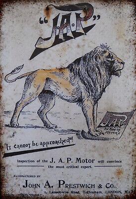 Jap Motors Retro Repro Rustic sign