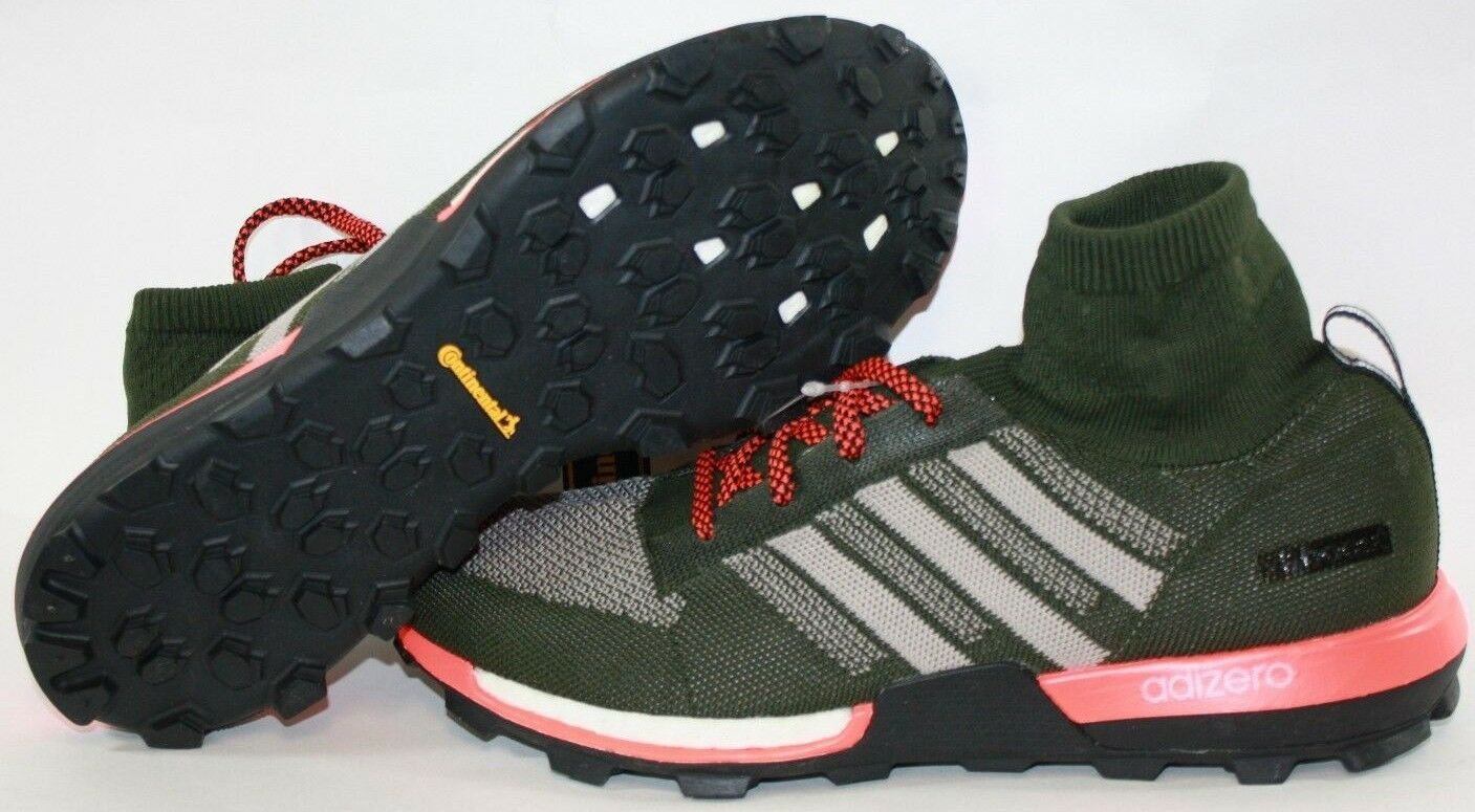 NEW Mens Sz 9 ADIDAS Adizero XT Prime Boost S85134 Green Red Sneakers Shoes