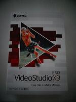 Corel Videostudio Pro X9 Cd-rom Pc Sealed Brand