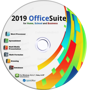 Details about 2019 Office Suite Software CD Home Student Business for  Microsoft Windows