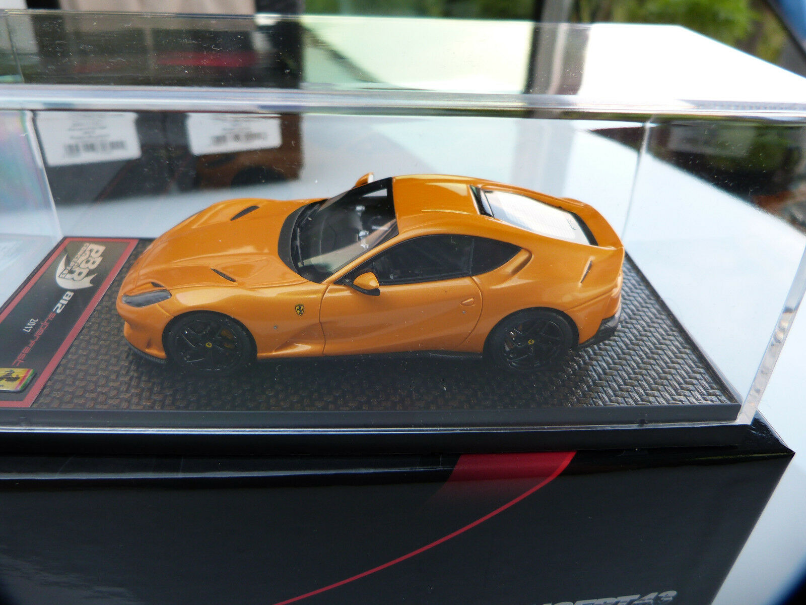 tutti i prodotti ottengono fino al 34% di sconto 1 43 BBR C198C Ferrari 812 Superfast 2017 threelayer threelayer threelayer gituttio only 72 pcs  all'ingrosso a buon mercato