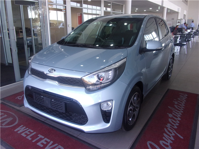 CELESTIAL BLUE Kia Picanto 1.2 Smart AT with 50km available now!