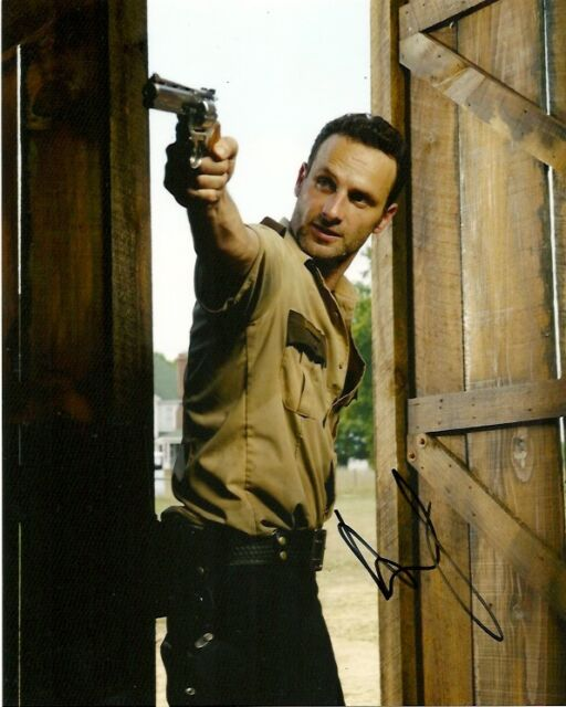 Walking Dead Andrew Lincoln Autographed Signed 8x10 Photo COA