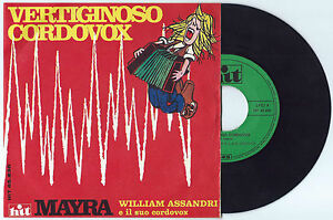 7-034-WILLIAM-ASSANDRI-Vertiginoso-cordovox-Hit-69-Italian-electro-folk-library-EX