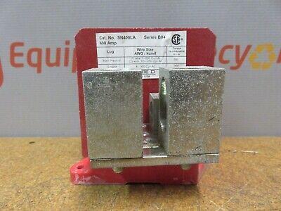 Square D SN400LA Groundable Neutral Assembly Conductors B04 CU or AL