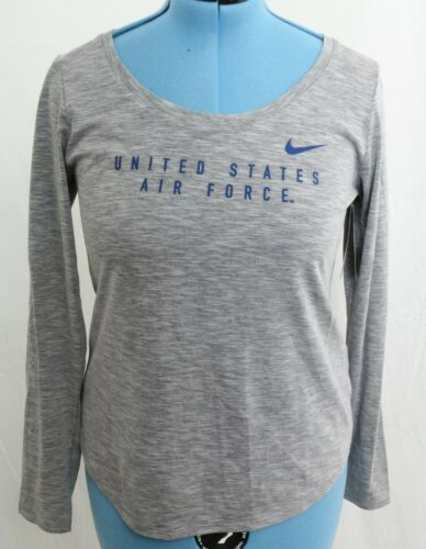Air Loose Camiseta Dri Grey mujer fit Dry Estados de Force M para Fit Unidos Nike nvw18vBAxq