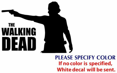 """The Walking Dead #2 Game Graphic Die Cut decal sticker Car Truck Boat Window 7/"""""""