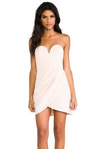 SHONA-JOY-Brand-Ballet-The-Obsession-Strapless-Mini-Dress-Size-6-BNWT-HG10