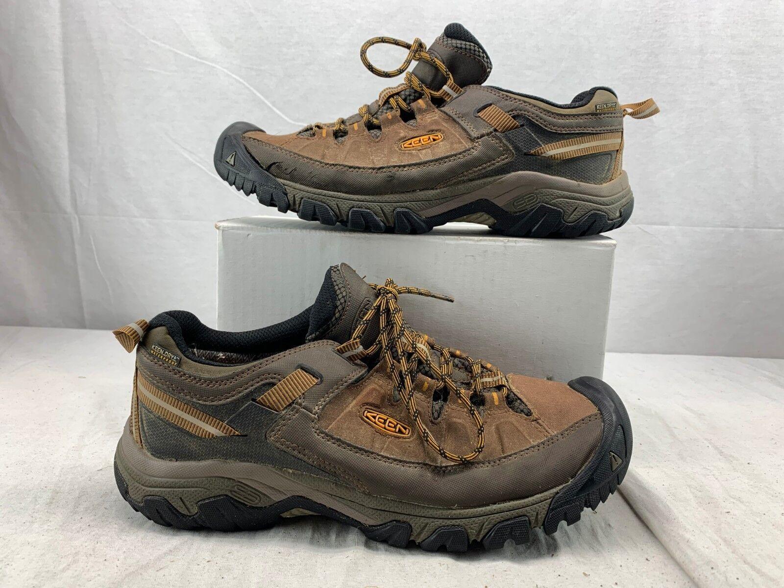 KEEN para hombre Targhee Explorer Impermeable Trail Zapatos Cascade Inca oro Tamaño 11