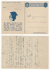 Postcard Cartolina Postale per le Forze Armate Franchigia Pubblicitaria