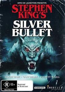 Silver-Bullet-Stephen-King-039-s-DVD-NEW-Region-4-Australia
