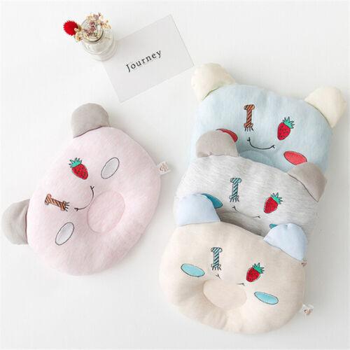 Pillow Support Cushion Anti-Head Pillow Correction Pillow Infant Baby Nursing FI