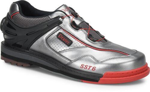 Sst Hybrid Dexter Boa 6 Homme Noir Bowling Gris Rouge de Droitier Chaussures 4SSdqwx