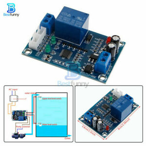 AC-DC-12V-Water-Level-Controller-Full-Automatic-Pump-Switch-Relay-Module-XH-M203