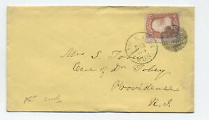 1860s-New-Haven-CT-65-star-of-david-fancy-cancel-cover-y3319