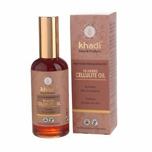 Khadi-AYURVEDICO-RIPARATIVA-Olio-100ml-10-ERBE-Cellulite-Olio-Cruelty-Free