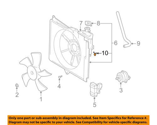TOYOTA OEM Radiator-Overflow Reservoir Tank Hose Clamp 9006919014