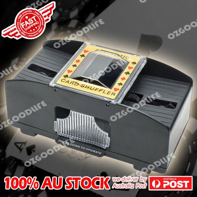 Automatic Poker Card Shuffler Shuffling Machine Battery Operated Game Playing