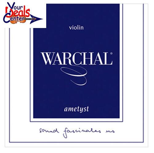 Warchal Ametyst Violin String Set 4//4 E Loop  End