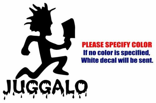 "ICP Juggalo Hatchetman Graphic Die Cut decal sticker Car Truck Boat Window 6/"""