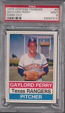 1976 Hostess Twinkies #4 Gaylord Perry, Texas Rangers PSA 9 MINT