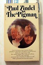 Book: The Pigman: Paul Zindel: vintage paperback Bantam