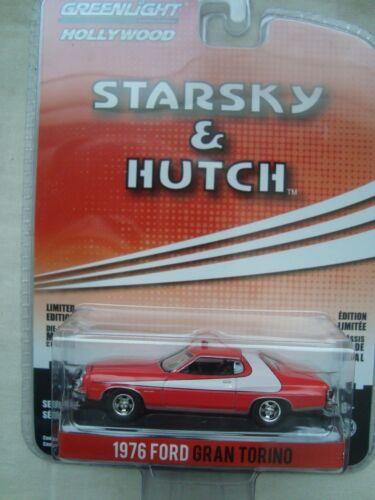 MINIATURE 1//64 OU 3 INCHIES GREENLIGHT FORD GRAND TORINO 1976 STARSKY HUTCH