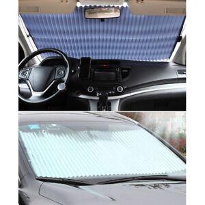 Auto-Sonnenschutz-Frontscheibe-Heckscheibe-Scheibenabdeckung-Windschutzs-Cover