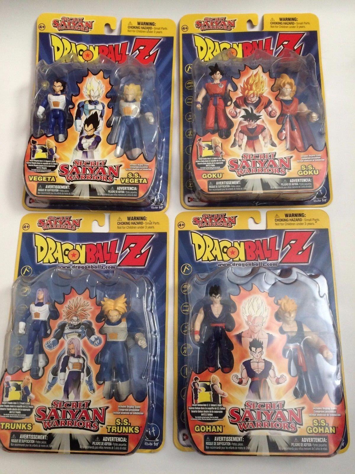 DragonBall Z Secret Saiyan Warriors- Goku, Vegeta, Trunks,Gohan