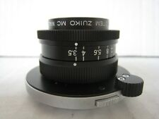 Olympus OM 38mm 38 mm F3.5 3.5 Macro Lens + PM-MTob Bellows Lens