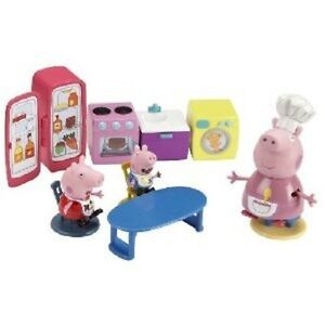 Details About Character Options Peppa Pig Kitchen Playset