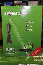 ROS 202.9 Sennebogen 690HD Seilbagger mit Schlitzwandgreifer  1:50 NEU in OVP