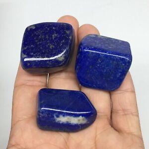 101-6g-1-1-034-1-4-034-3pcs-Natural-Lapis-Lazuli-Tumbled-Glassy-Polished-LT12