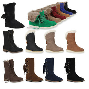 Damen Gr 36 94708 Warme Stiefelette 41 Stiefel Schuhe 7Wnzn6x